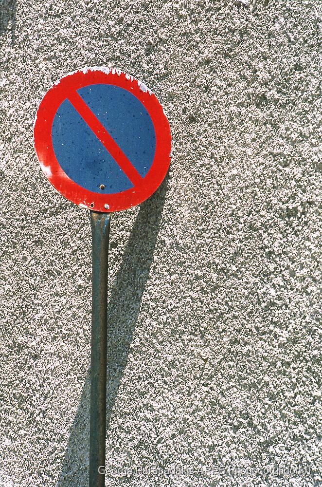 STOP! No Parking! by George Parapadakis ARPS (monocotylidono)