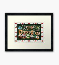 Xmas Cookies & Sweets (20968 Views) Framed Print