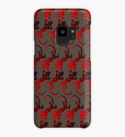 Red Lizard  Case/Skin for Samsung Galaxy