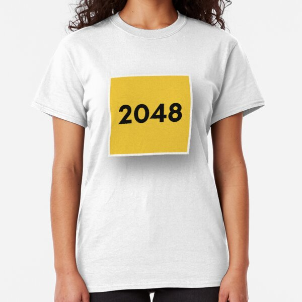 2048 Tile Classic T-Shirt