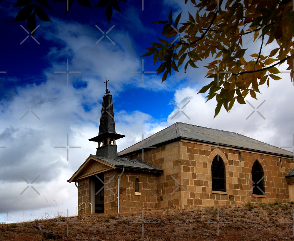 Church in Ouse by Adrianne Yzerman