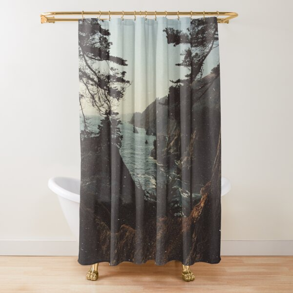 Road Trip USA Shower Curtain