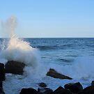 Waves splash at Point Danger by Annie Smit