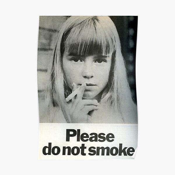 Please Do Not Smoke 1972 Poster