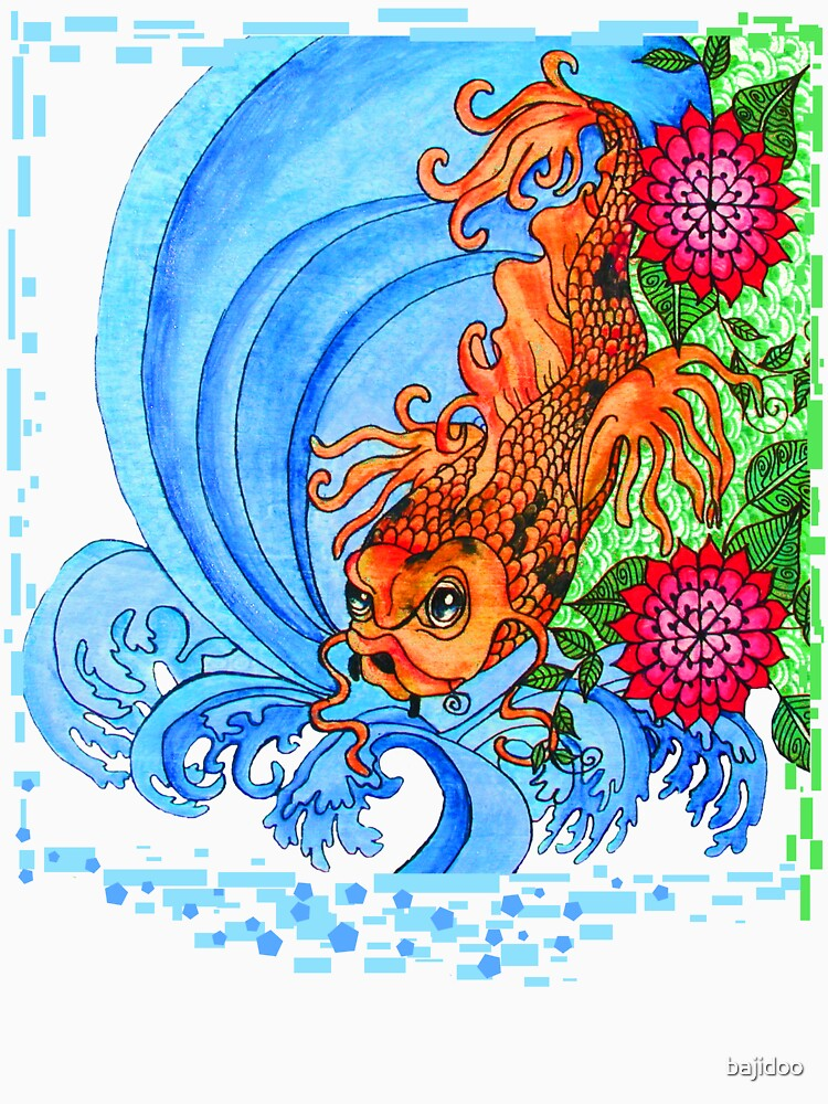 Color Me Koi by bajidoo