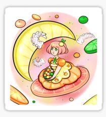Citrus Girl Sticker