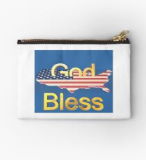 God Bless America Studio Pouch