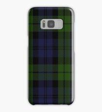 00535 Black Watch (smallest sett) Military Tartan  Samsung Galaxy Case/Skin