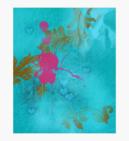 Pink elf in love Photographic Print