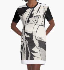 NOIR no.01 (REACH) Graphic T-Shirt Dress