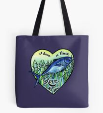 Love you a tuna  Tote Bag