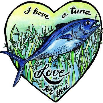 Ich liebe dich einen Thunfisch von polaskus
