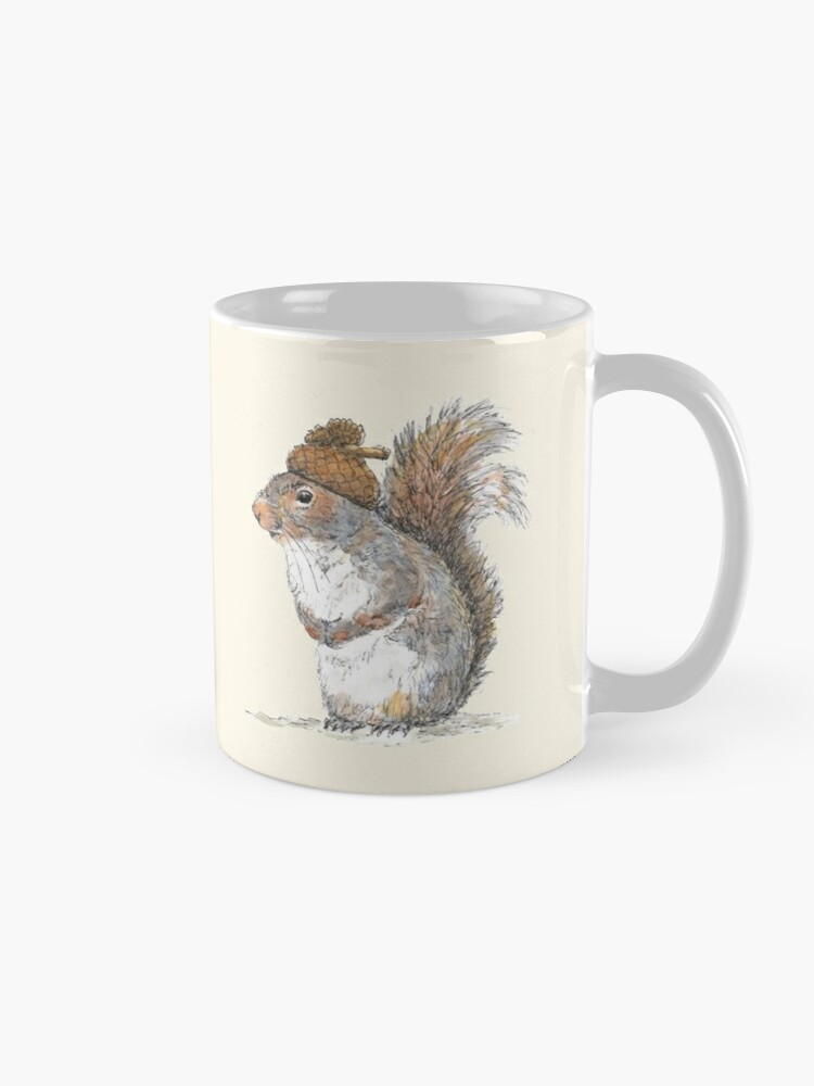 Alternate view of Squirrel with an Acorn Hat Mug