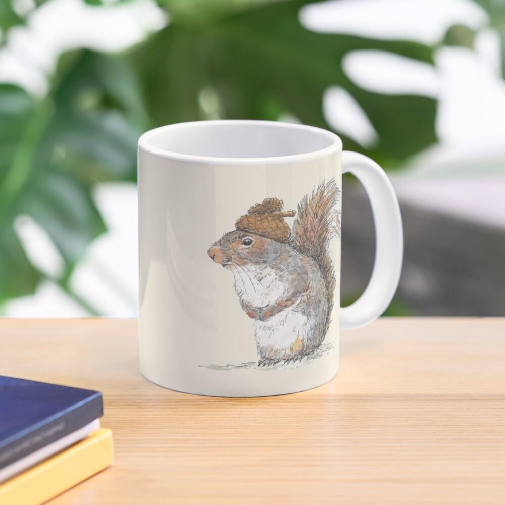 Squirrel with an Acorn Hat Mug