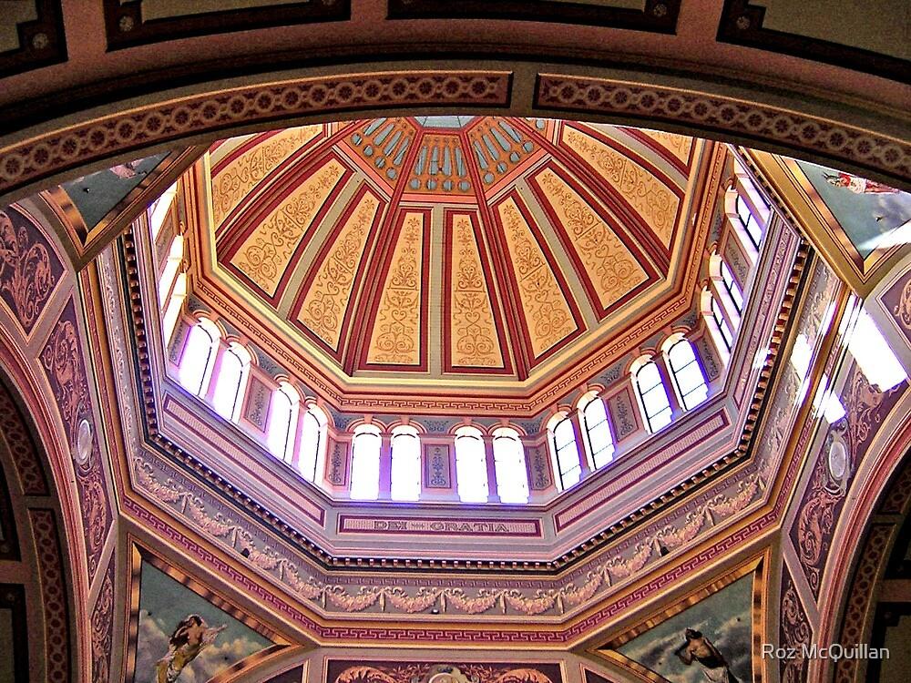 Interior, Royal Exhibition Buildings, Melbourne by Roz McQuillan