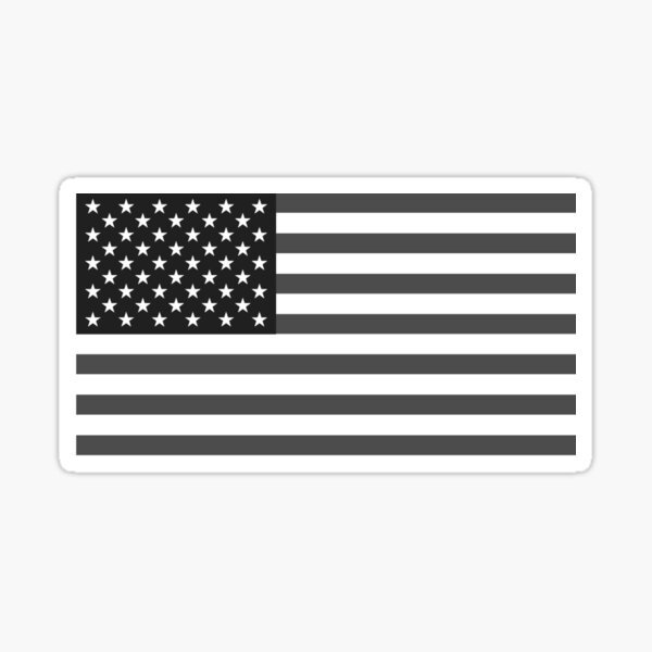 Gray Glory Sticker