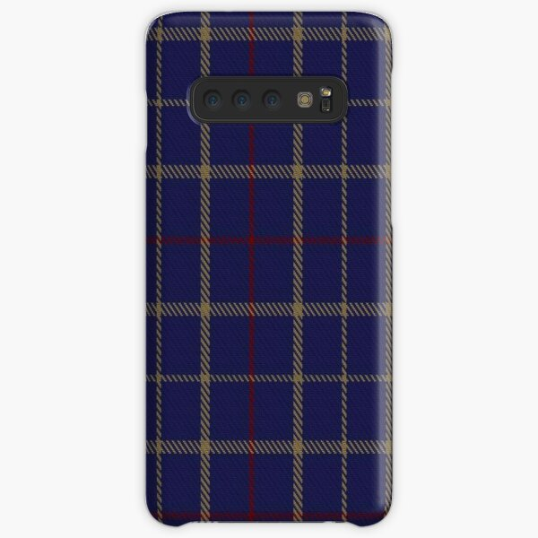 00470 Tattersall Blue Fashion Tartan  Samsung Galaxy Snap Case