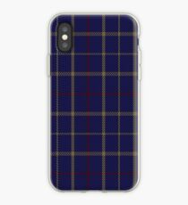 00470 Tattersall Blue Fashion Tartan  iPhone Case