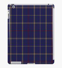 00470 Tattersall Blue Fashion Tartan  iPad Case/Skin