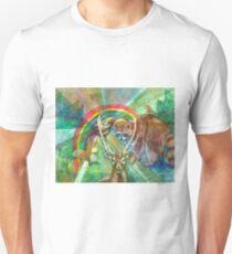 The Rainbow Cocoon Unisex T-Shirt