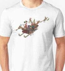 Party Christmas Sleigh Ride Unisex T-Shirt