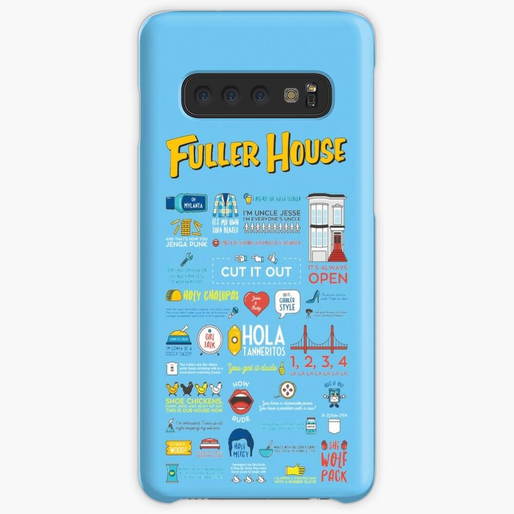 Cotizaciones de Fuller House Funda y vinilo para Samsung Galaxy