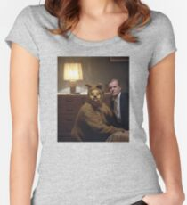 The Shining Dog Suit Women's Fitted Scoop T-Shirt