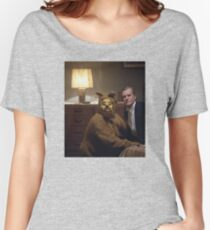 The Shining Dog Suit Women's Relaxed Fit T-Shirt