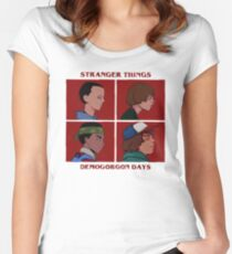 stranger - beneath a shared diagnosis. I thought I killed the pattern in Women's Fitted Scoop T-Shirt