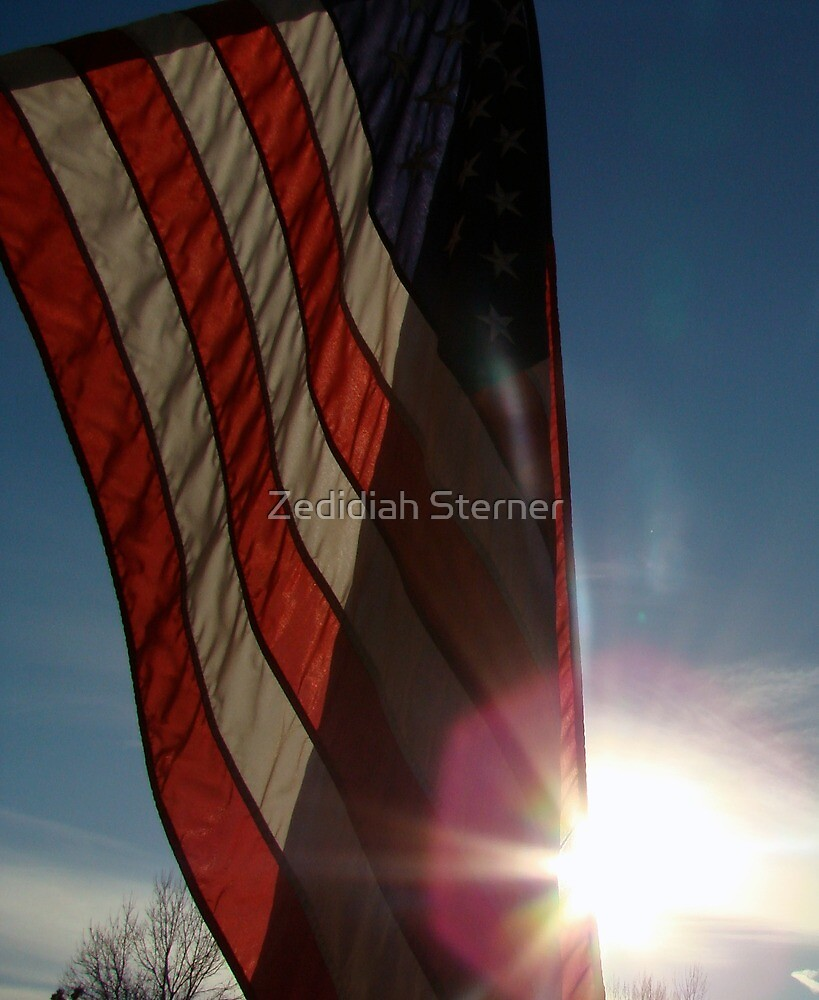 Flag. by Zedidiah Sterner
