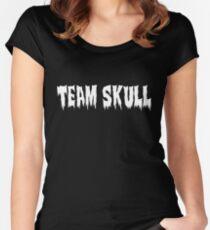 Team Skull / Los Ingobernables Women's Fitted Scoop T-Shirt