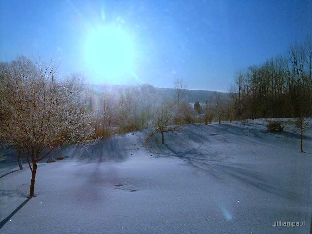 """""""Perfect Cerulean Winter Morn""""... by williampaul"""