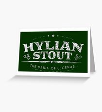 Hylian Stout - The Drink of Legends Greeting Card