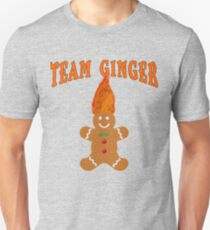 Team Ginger with Gingerbread Man T-Shirt