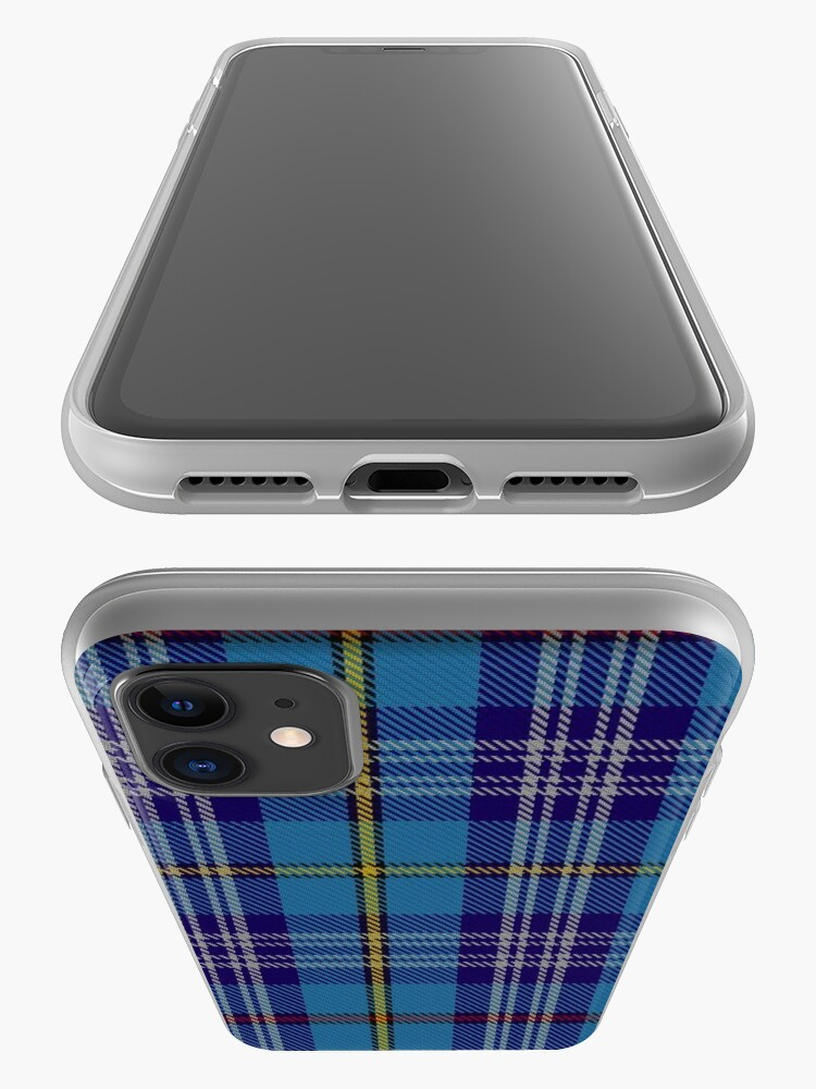 Alternate view of 00570 Citadel Military Academy Tartan  iPhone Case & Cover