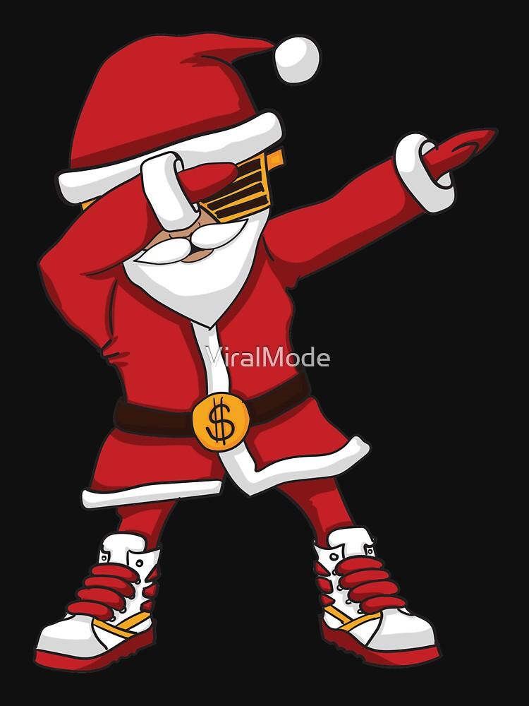 Weihnachten, die Santa Hip Hop Santa abtupfen von ViralMode