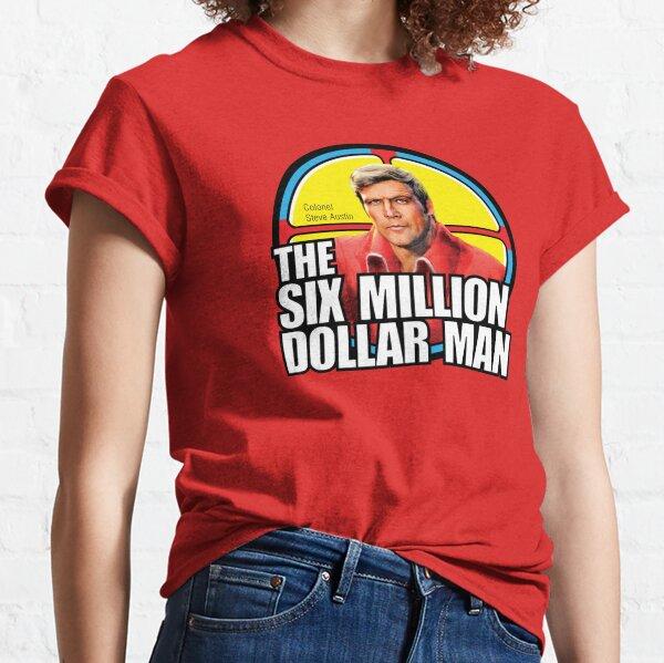 Six Million Dollar Man - Steve Austin Shirt, Sticker, Hoodie, Mask Classic T-Shirt