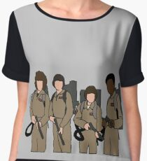 stranger things ghostbusters Chiffon Top