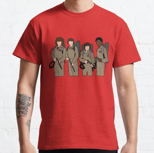stranger things ghostbusters Classic T-Shirt