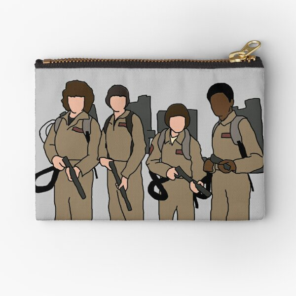 stranger things ghostbusters Zipper Pouch