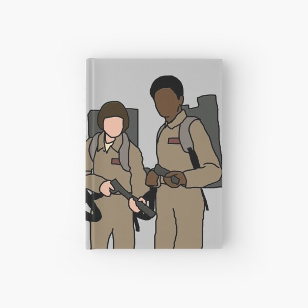 stranger things ghostbusters Hardcover Journal