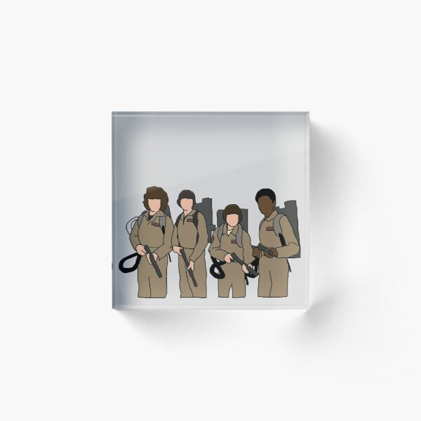 stranger things ghostbusters Acrylic Block