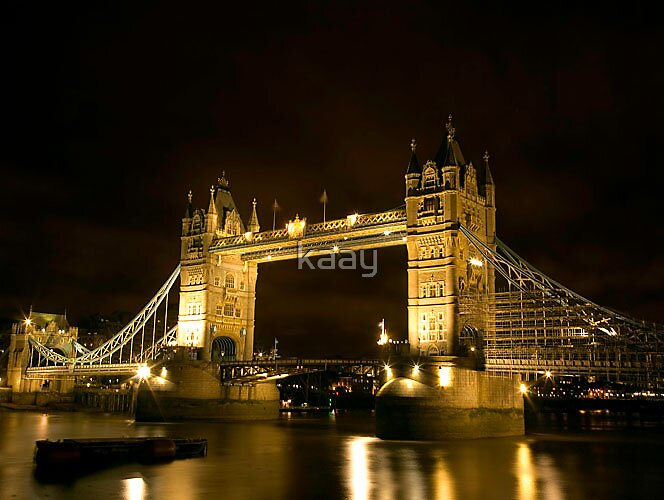 TOWER BRIDGE, LONDON by kaay