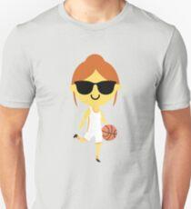 Basketball Girl Emoji   Unisex T-Shirt