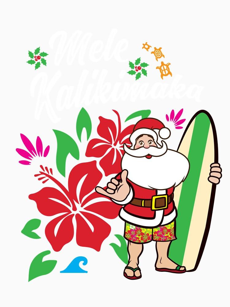 mele kalikimaka cute christmas hawaiian gift by leyogi - Christmas In Hawaiian