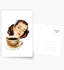 Miss Joy Latte Postcards