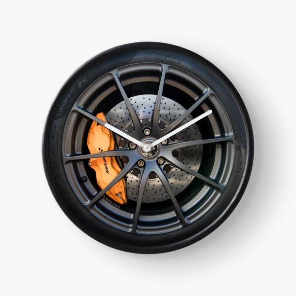 Mclaren 675LT ultra lightweight wheel Clock