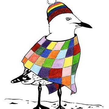 Chilli the Seagull by JakkiOakes