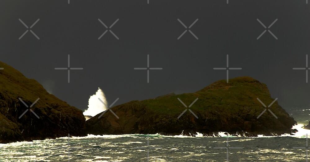 splitting the rocks by Terry Mooney