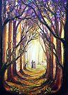 Summer Stroll - Trees by Linda Callaghan